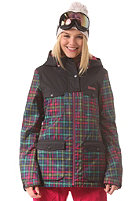 BENCH Womens Check on it Jacket jet black