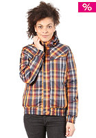 BENCH Womens Checkster Jacket total eclipse