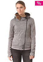 Womens Compact Hooded Zip Sweat anthracite marl
