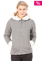 BENCH Womens Cottam Hooded Zip stormcloud marl