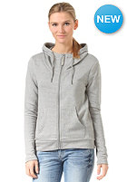 BENCH Womens Covure Hooded Zip Sweat neutral grey marl