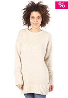 BENCH Womens Crewton Woolsweat muesli marl 