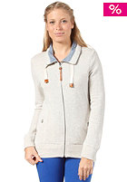 BENCH Womens Crowlin Sweat Jacket gray marl