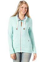 BENCH Womens Crowlin Sweat Jacket pool green