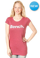 BENCH Womens Dacre S/S T-Shirt rouge red
