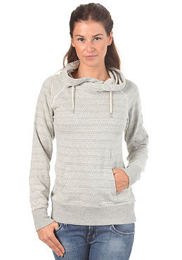BENCH Womens Danzish Hooded Sweat mid grey marl