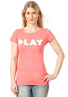 BENCH Womens Dayno S/S T-Shirt georgia peach
