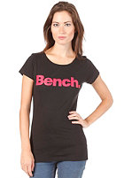 BENCH Womens Deck S/S T-Shirt black