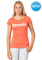 BENCH Womens Deck S/S T-Shirt fiery coral