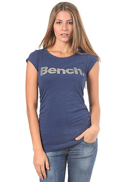 BENCH Womens Deck Star S/S T-Shirt estate blue