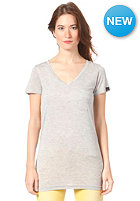 BENCH Womens Delbooth S/S T-Shirt grey marl