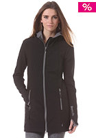 BENCH Womens Denington II Windbreaker jet black