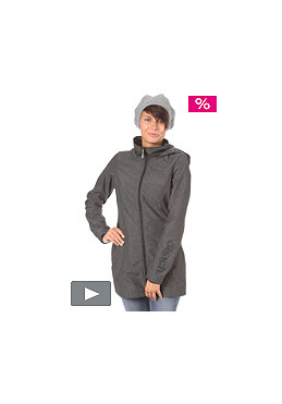 BENCH Womens Denny Jacket charcoal