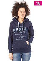 BENCH Womens Dewsbury Hooded Sweat mid denim