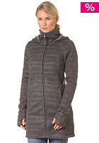 BENCH Womens Doris B Knit Jacket dark grey marl