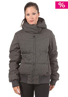 BENCH Womens Embasy Jacket dark grey marl
