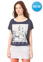BENCH Womens Evenly S/S T-shirt DRESS BLUE