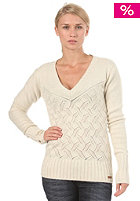 BENCH Womens Exaggerate Knitted Sweat sleet marl
