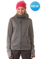 BENCH Womens Faining Tech Zip Sweat anthracite marl