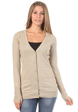 BENCH Womens Fancy That B Knitted Sweat barley marl