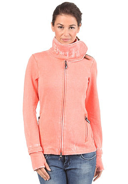 BENCH Womens Fast Forward Zip Sweat fusion coral
