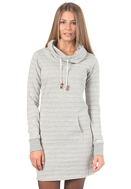 BENCH Womens Fidgeter Dress mid grey marl