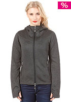 BENCH Womens Firecrackle Cardigan bench black marl