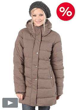 BENCH Womens Flurrie Jacket walnut marl