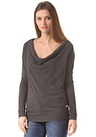 BENCH Womens Foad Knit Sweat anthracite marl