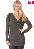 BENCH Womens Foad Knit Sweat dark grey marl