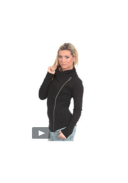 BENCH Womens Fort Zip Sweatshirt black