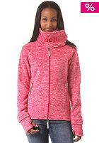 BENCH Womens Funnel H Sweat Jacket cerise marl