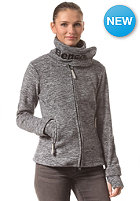 BENCH Womens Funnel H Sweat Jacket jet black marl