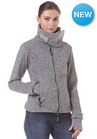 BENCH Womens Funnel H Sweatjacket smoked pearl