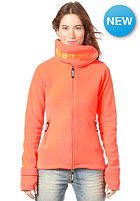 BENCH Womens Funnel Neck Fleece fiery coral