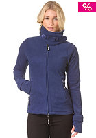 BENCH Womens Funnel Neck Fleece Jacket blue depths