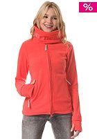 BENCH Womens Funnel Neck Fleece Jacket cayenne