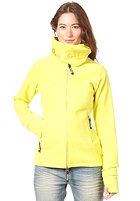BENCH Womens Funnel Neck Fleece sulphur spring