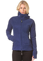 BENCH Womens Funnel Neck Zip Fleece blue depths