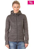 BENCH Womens Garham Knit Jacket dark grey marl