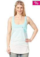 BENCH Womens Gradient Top pool blue