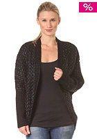 BENCH Womens Haldane Knit Jacket black
