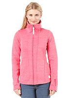 BENCH Womens Hallrule Sweat Jacket rose red