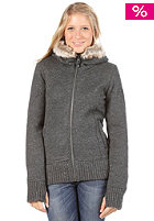 BENCH Womens Hood Town Woolsweat dark grey marl
