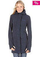 BENCH Womens Hooded Fleece total eclipse