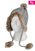 BENCH Womens Hough Beanie medium grey marl