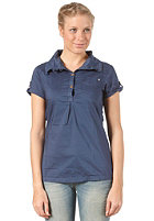 BENCH Womens Hybridge Blouse dark denim