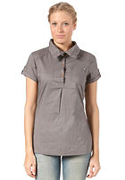 BENCH Womens Hybridge Blouse smoked pearl