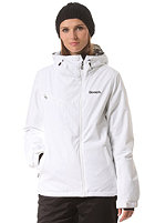 BENCH Womens Issential Jacket bright while