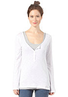 BENCH Womens Jaylol Longsleeve bright white